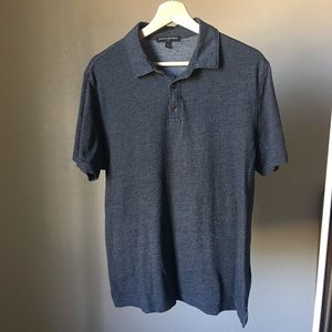 Men's BR Factory Polo. Grey. Large.